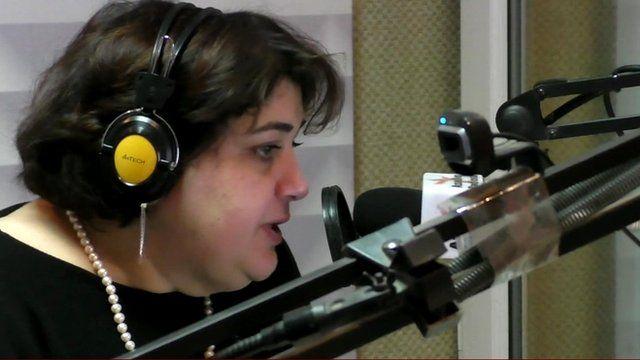 Radio Liberty journalist