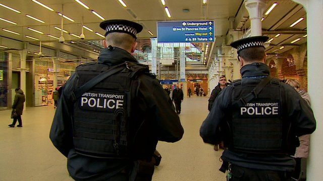 Police Officers on duty in London