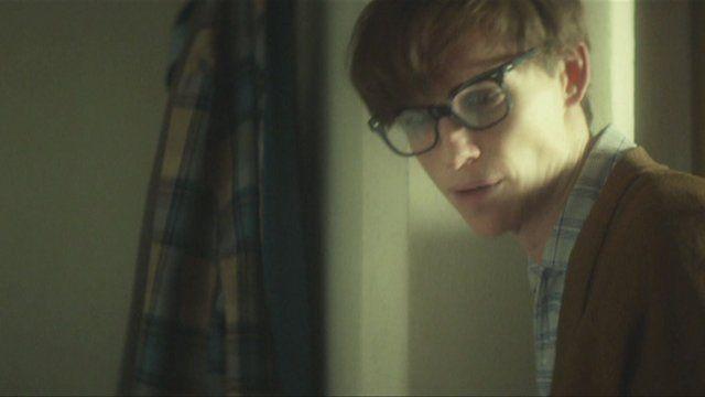Eddie Redmayne as physicist Professor Stephen Hawking