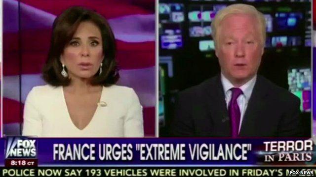 Still from Fox News broadcast