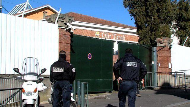 Security at Jewish school