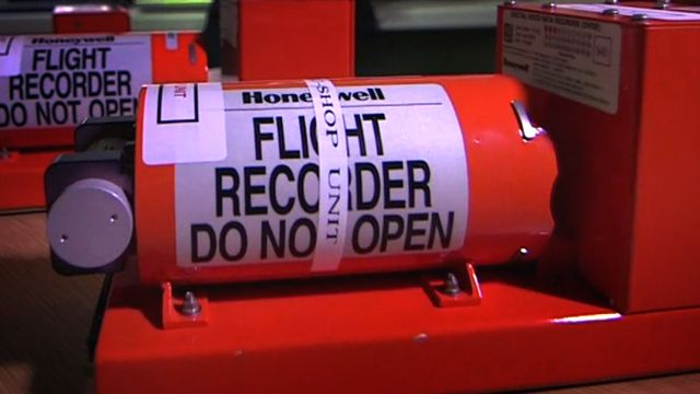 """Black box"" flight recorder"