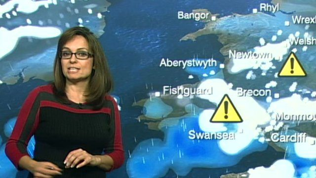 BBC weather presenter Sue Charles