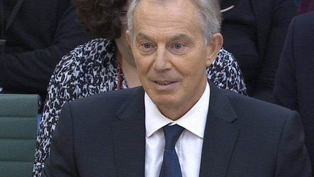 Tony Blair apologised to those who suffered as a result of the On The Runs scheme, but said it was critical to the Northern Ireland peace process