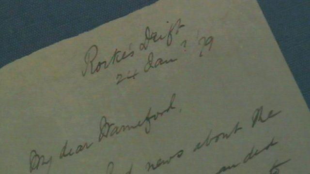 Rorke's Drift letter
