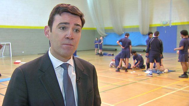 Andy Burnham, Labour MP