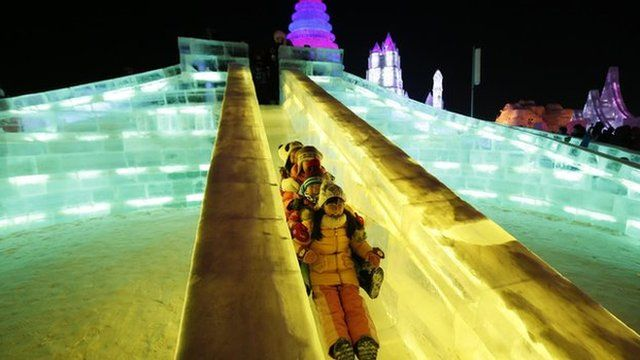 Harbin Ice Slide
