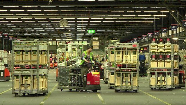 Inside Dutch factory