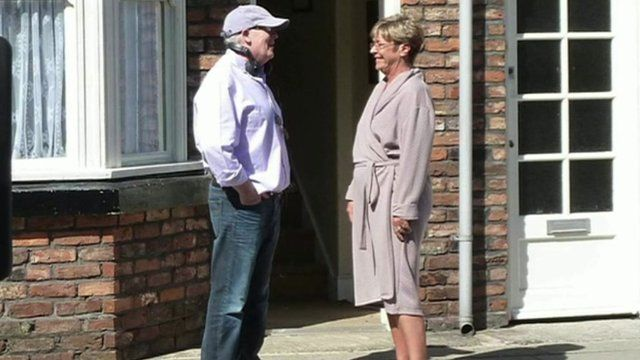 Terry and Anne Kirkbride