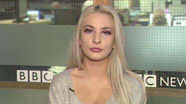 Glamour model Laura Lacole