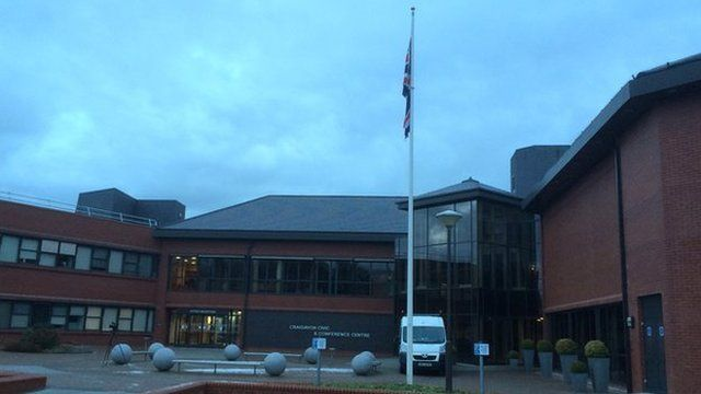 The union flag will now fly all year round at Craigavon Borough Council's headquarters