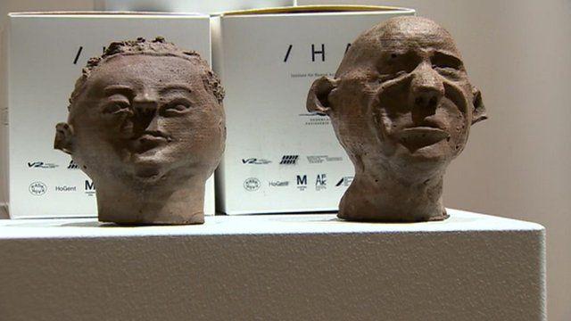 Chocolate sculptures on Artes Mundi list