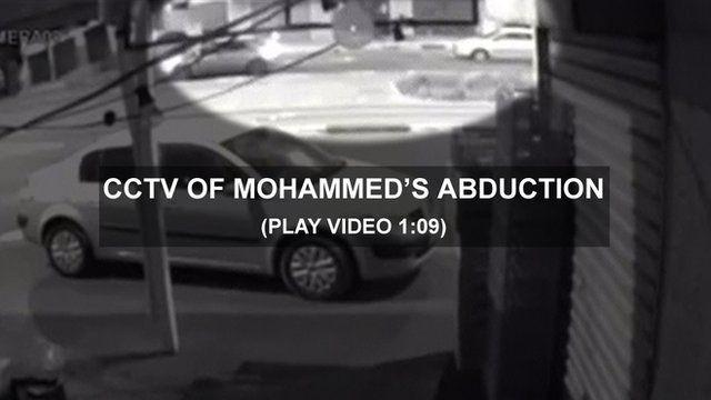 CCTV of Mohammed Abu Khdeir's abduction