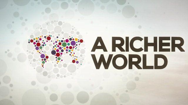 BBC Richer World graphic