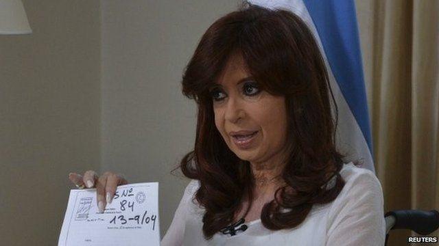 Argentina's president