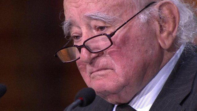 Auschwitz survivor Roman Kent