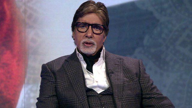 Film legend Amitabh Bachchan