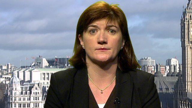 Education Secretary Nicky Morgan