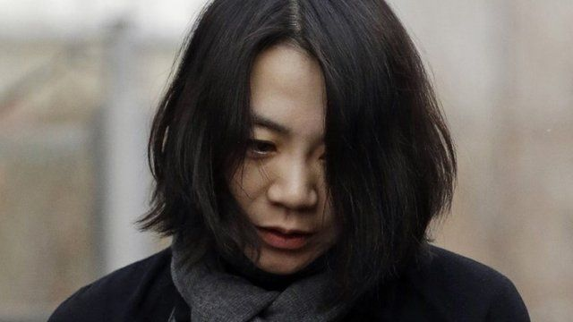 Cho Hyun-ah, who was head of cabin service at Korean Air and the oldest child of Korean Air Chairman Cho Yang-ho