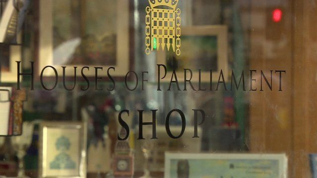Houses of Parliament shop