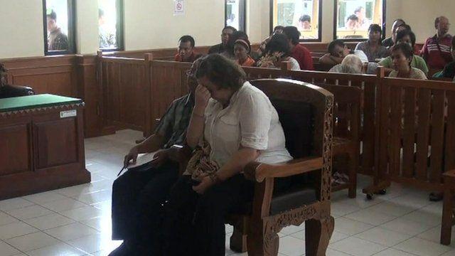 Lindsay Sandiford in court in 2013
