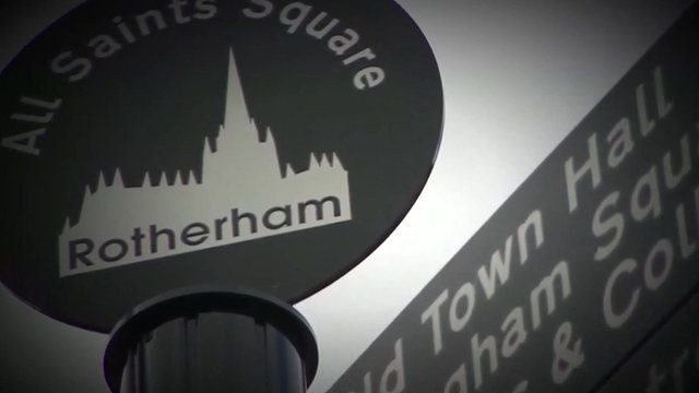 Rotherham Council sign