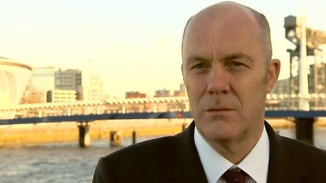 Civil engineer John Addy has told BBC News NI's Kevin Magee the barrier should be reinstated.