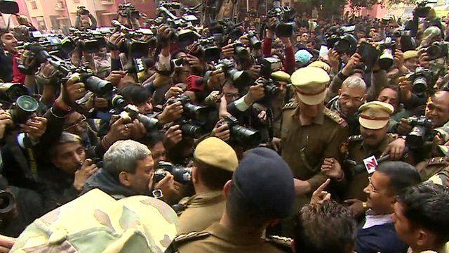 Media swam around Arvind Kejriwal