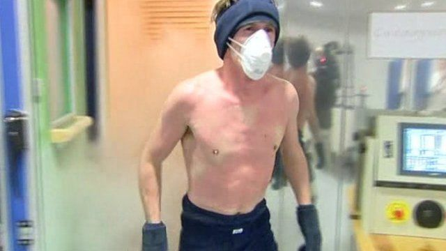 Tony McCoy used cryotherapy to help return in time for Cheltenham after a horrific back injury in 2008