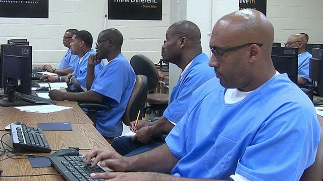 Prisoners learning to code