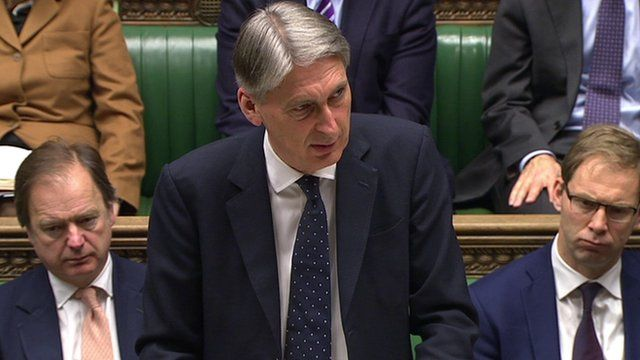 Philip Hammond in the House of Commons