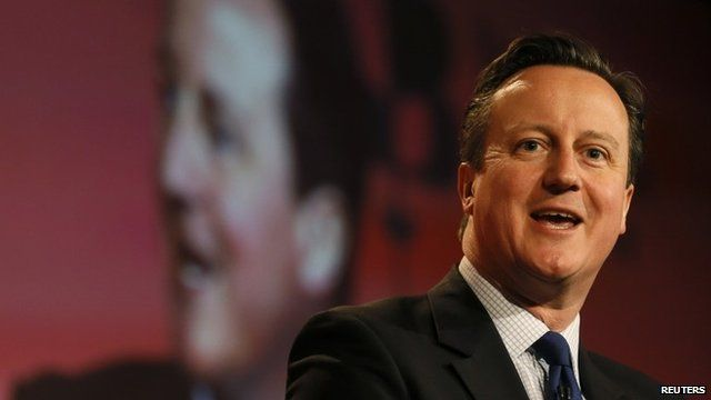 David Cameron speaks at the British Chambers of Commerce annual meeting