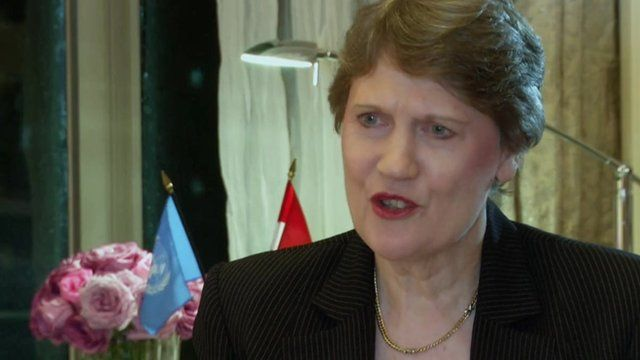 Helen Clark, former New Zealand prime minister