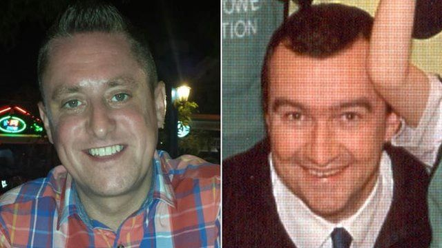 Stephen Vaughan and Phil Allen, both from Swansea