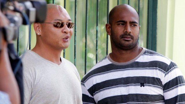 Andrew Chan and Myuran Sukumaran - file image