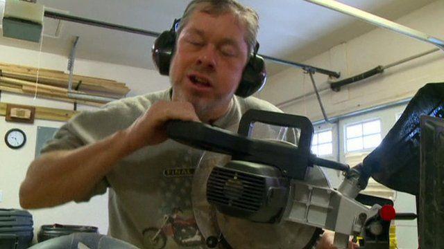 Clay Gurganus at work