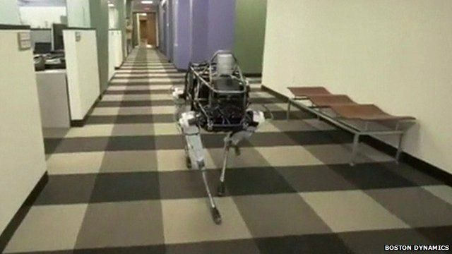 """""""Spot"""", a robot developed by Boston Dynamics"""