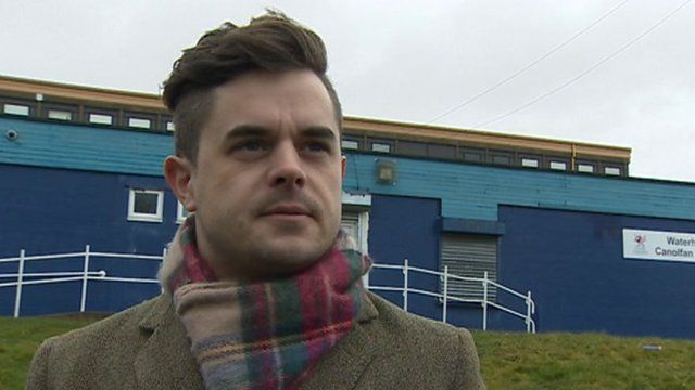 Ryan Williams, chairman of Cylch Meithrin Welsh medium nursery