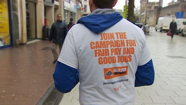 TUC campaigners