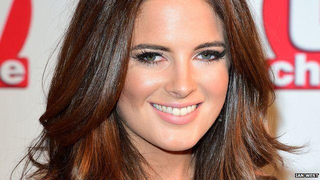 File photo (from Sept 2014) of TV celebrity Binky Felstead