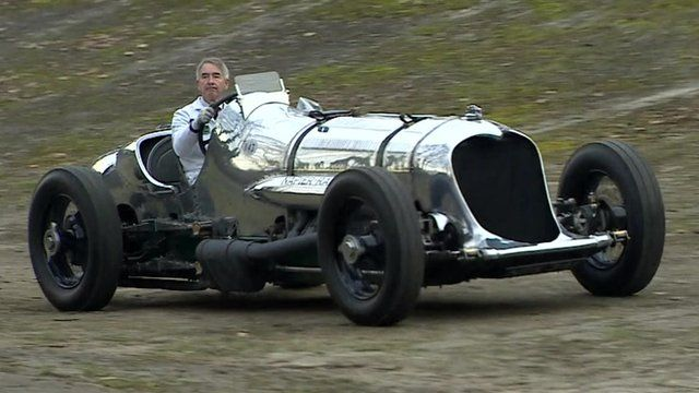 Old motor car