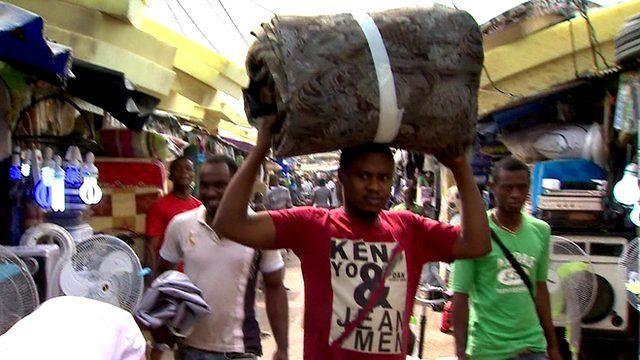 Market in Equatorial Guinea