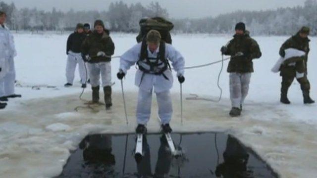 Gurkhas training