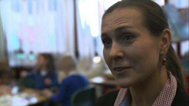 Teacher Agnieszta Sadcsuk