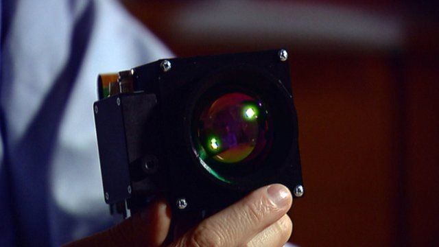 Camera that can detect gas leaks