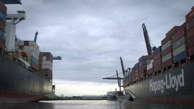 Tacoma port