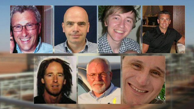 7 British men who died at Algerian gas plant In-Amenas hostage crisis