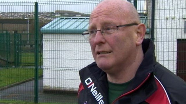 "Sinn Féin councillor Kevin Campbell described the incident as ""disgraceful"""