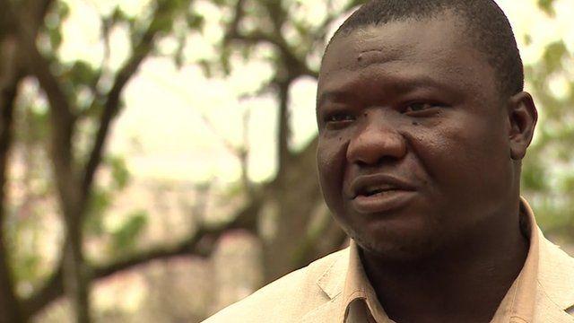 Liberia's Minister of Health Tolbert Nyenswah