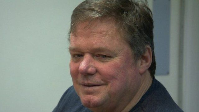 """Ted Robbins said he was """"so lucky to be alive"""""""